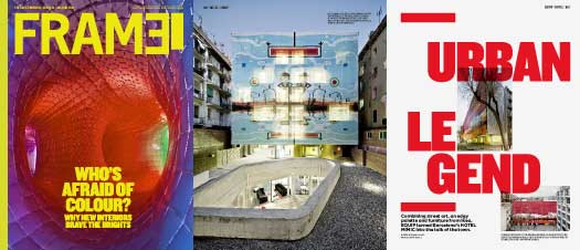 Frame magazine, Hotel Acta Mimic, Xavier Claramunt, Barcelona, Colours