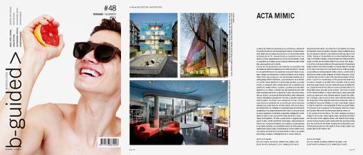 Hotel Acta Mimic (Barcelona), arquitectura y diseño de EQUIP Xavier Claramunt